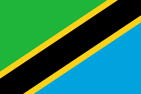 United Republic of Tanzania flag