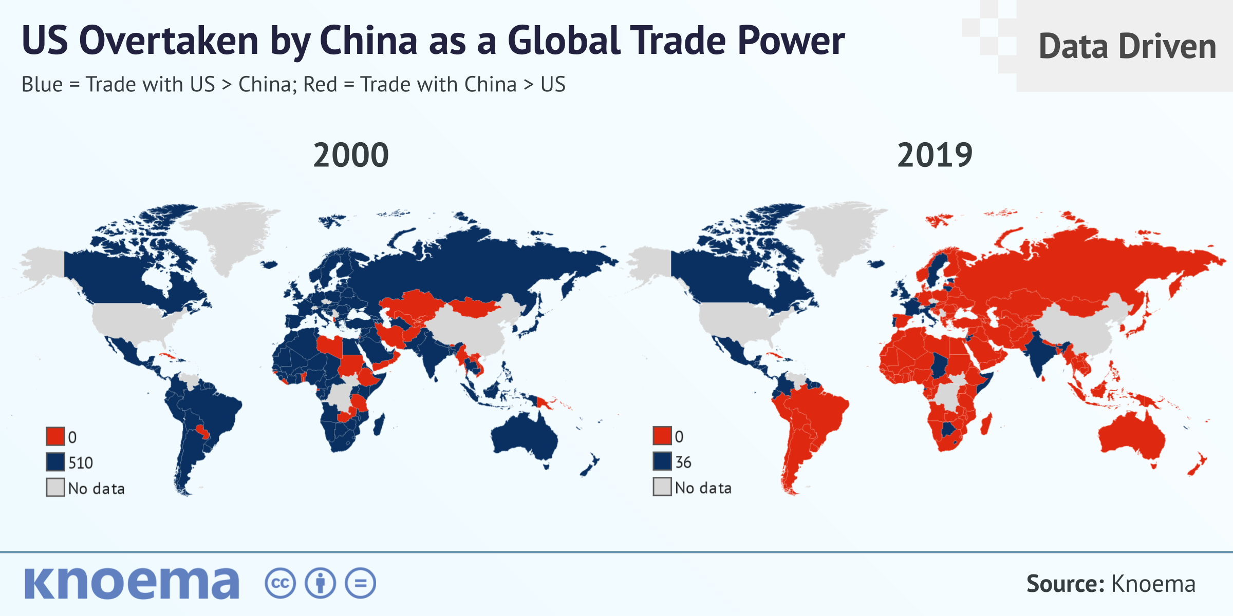 Global Economic Trends: US Overtaken by China as a Global Trade Power -  knoema.com