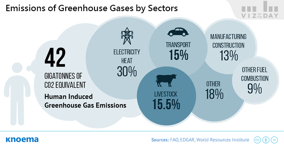 Global Greenhouse Gas Emissions from Livestock