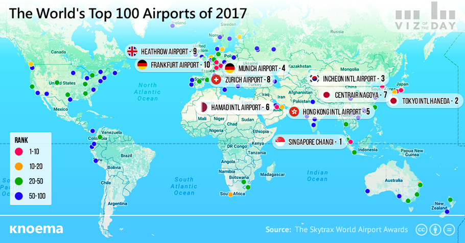 The worlds top 100 airports knoema the worlds best airports publicscrutiny Image collections